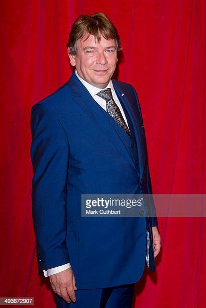 Adam Woodyatt attends the British Soap Awards at Hackney Empire on May 24 2014 in London England