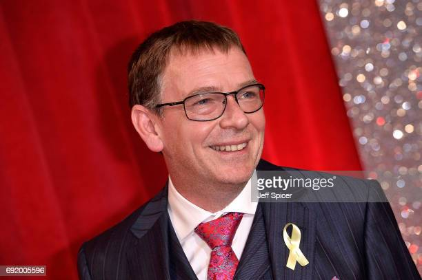 Adam Woodyatt attends The British Soap Awards at The Lowry Theatre on June 3 2017 in Manchester England The Soap Awards will be aired on June 6 on...
