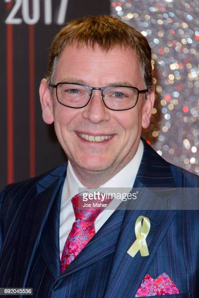 Adam Woodyatt attends the British Soap Awards at The Lowry Theatre on June 3 2017 in Manchester England