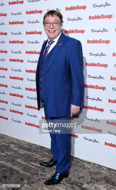 Adam Woodyatt attends the Inside Soap Awards at The Hippodrome on November 6 2017 in London England