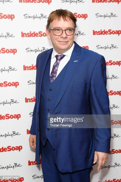 Adam Woodyatt attends the Inside Soap Awards held at The Hippodrome on November 6 2017 in London England
