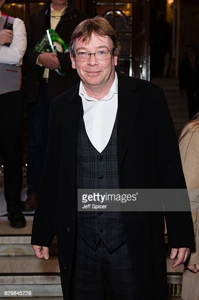 Adam Woodyatt attends the opening night of 'Cinderella' at London Palladium on December 14 2016 in London England Pantomime returns to the London...
