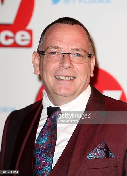 Adam Woodyatt attends the TV Choice Awards 2015 at Hilton Park Lane on September 7 2015 in London England