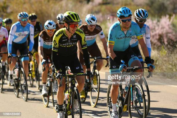 Adam Yates of Great Britain and Team Mitchelton Scott / Magnus Cort Nielsen of Denmark and Astana Pro Team / during the 70th Volta a la Comunitat...