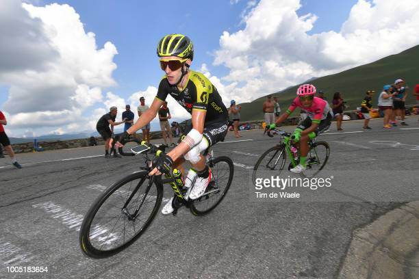 Adam Yates of Great Britain and Team Mitchelton-Scott / Daniel Felipe Martinez of Colombia and Team EF Education First - Drapac P/B Cannondale /...