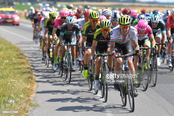 Adam Yates of Great Britain and Team Mitchelton-Scott / Daryl Impey of South Africa and Team Mitchelton-Scott / during the 105th Tour de France 2018,...