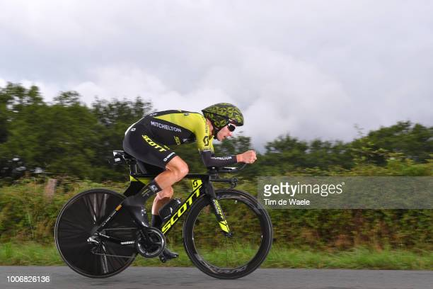 Adam Yates of Great Britain and Team Mitchelton-Scott / during the 105th Tour de France 2018, Stage 20 a 31km Individual Time Trial stage from...