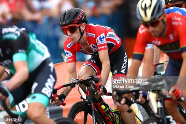 Adam Yates of Great Britain and Team Mitchelton-Scott Red Leader Jersey / during the 73rd Tour of Spain 2018, Stage 21a 100,9km stage from Alcorcon...