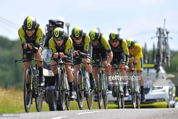 Adam Yates of Great Britain / Carlos Verona of Spain / Alexander Edmondson of Australia / Lucas Hamilton of Australia / Robert Power of Australia /...