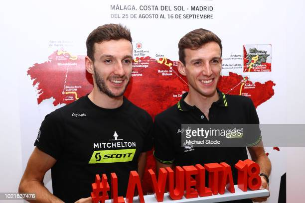 Adam Yates of Great Britain / Simon Yates of Great Britain and Team MitcheltonScott of Australia / during the 73rd Tour of Spain 2018 Top Riders...