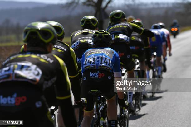 Adam Yates of he United Kingdom and Team Mitchelton - Scott Blue Leader Jersey / during the 54th Tirreno-Adriatico 2019, Stage 3 a 226km stage from...