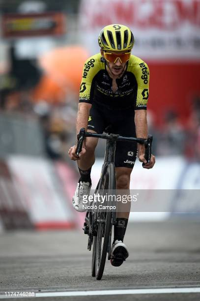 Adam Yates of Mitchelton-Scott rides during the 100th Milano-Torino a semi classic single day cycling race from Milan to Turin. It is the oldest of...