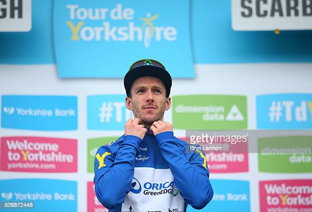 Adam Yates of Orica GreenEDGE and Great Britain wins Best British rider after the third stage of the 2016 Tour de Yorkshire between Middlesbrough and...