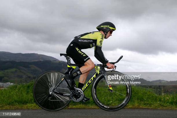 Adam Yates of the United Kingdom and Team Mitchelton - Scott / during the 59th Itzulia-Vuelta Ciclista Pais Vasco 2019, Stage 1 a 11,2km Individual...