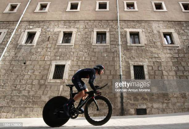 Adam Yates of United Kingdom and Team INEOS Grenadiers competes during the 76th Tour of Spain 2021, Stage 1 a 7,1km individual time trial from Burgos...