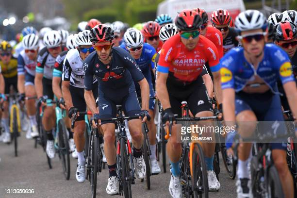 Adam Yates of United Kingdom and Team INEOS Grenadiers during the 85th La Fleche Wallonne 2021, Men Elite a 193,6km race from Charleroi to Mur de Huy...