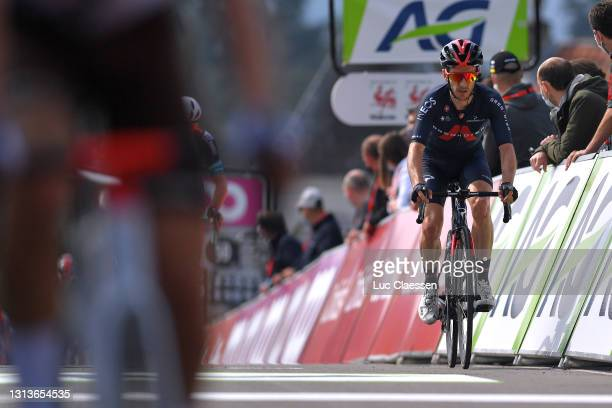 Adam Yates of United Kingdom and Team INEOS Grenadiers on arrival during the 85th La Fleche Wallonne 2021, Men Elite a 193,6km race from Charleroi to...