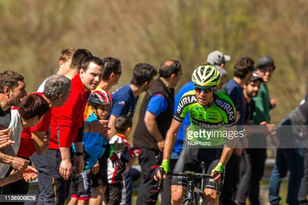 Adam Yates wins final stage with 1118,2km and Ion Izaguirre wins general classification of 59th Itzulia-Vuelta Ciclista Pais Vasco 2019 on April 13,...