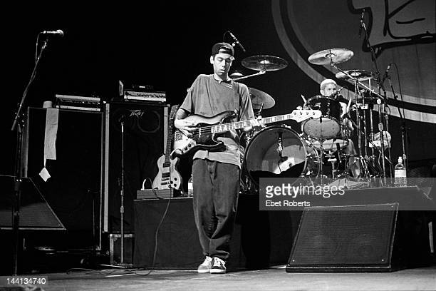 Adam Yauch and Mike D of the Beastie Boys at Roseland in New York City on November 7 1992