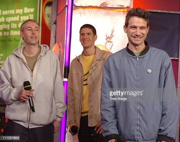 Adam Yauch Mike D and Adam Horovitz of the Beastie Boys