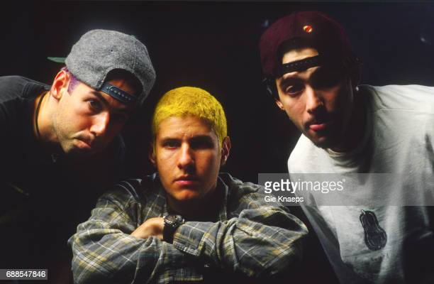 Adam Yauch Mike Diamond Adam Horovitz Beastie Boys AB Brussels Belgium