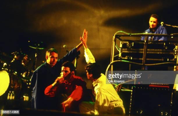 Adam Yauch Mike Diamond Adam Horovitz Beastie Boys Rock Torhout Festival Torhout Belgium