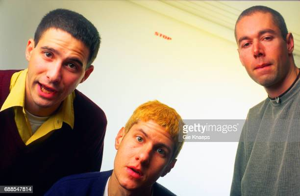 Adam Yauch Mike Diamond Adam Horovitz Beastie Boys SAS Hotel Brussels Belgium
