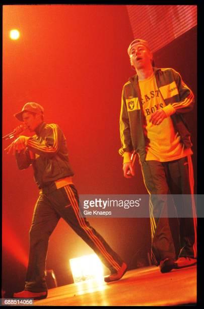 Adam Yauch , Mike Diamond , Adam Horovitz , Beastie Boys, Vorst Nationaal, Brussels, Belgium, .