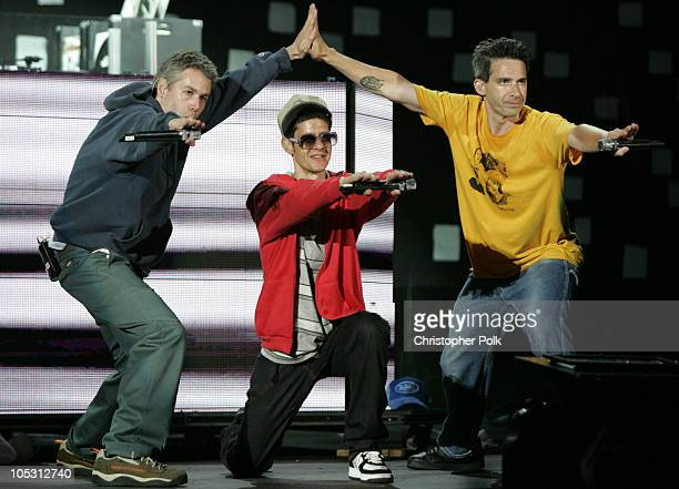 Adam Yauch, Mike Diamond and Adam Horovitz and of the Beastie Boys