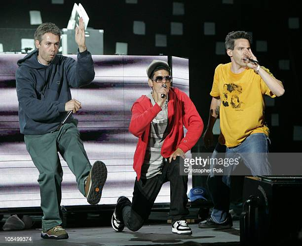 Adam Yauch Mike Diamond and Adam Horovitz and of the Beastie Boys