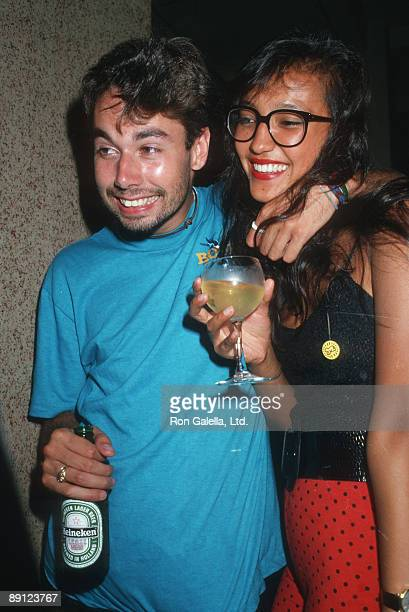 Adam Yauch of the Beastie Boys and date
