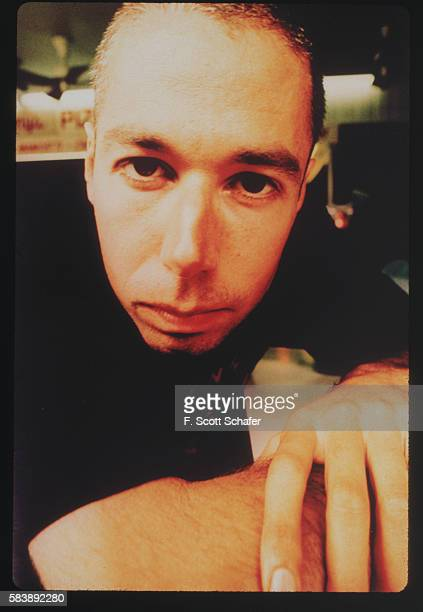 Adam Yauch of the Beastie Boys is photographed in January 1994.