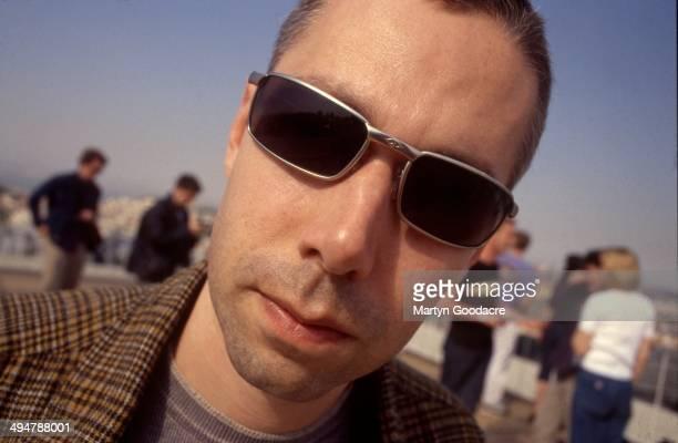 Adam Yauch of the Beastie Boys, portrait, Portugal, 1998.