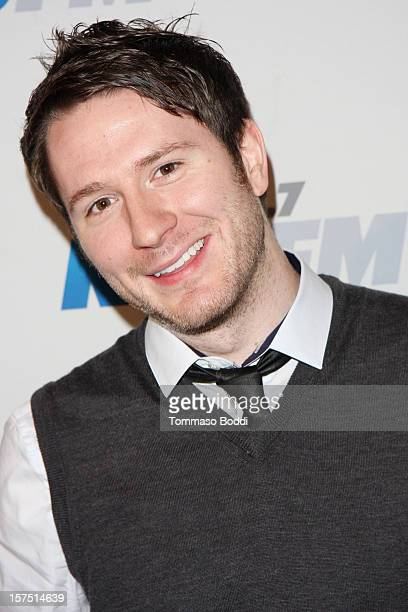 Adam Young of Owl City attends the KIIS FM's Jingle Ball 2012 held at Nokia Theatre LA Live on December 3 2012 in Los Angeles California
