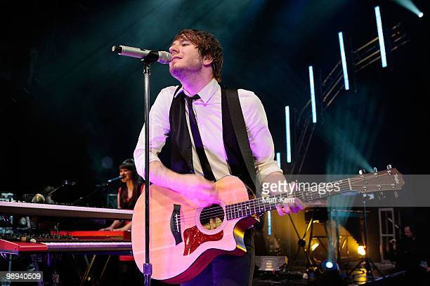 Adam Young of Owl City performs at Shepherds Bush Empire on May 9 2010 in London England