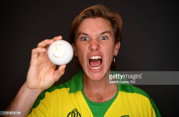 Adam Zampa of Australia poses for a portrait prior to the ICC Cricket World Cup 2019 at on May 26 2019 in Southampton England