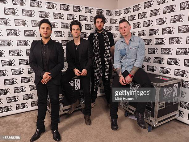 Adam Zindani Kelly Jones Jamie Morrison and Richard Jones of the Stereophonics perform for Teenage Cancer Trust on March 23 2015 in London England