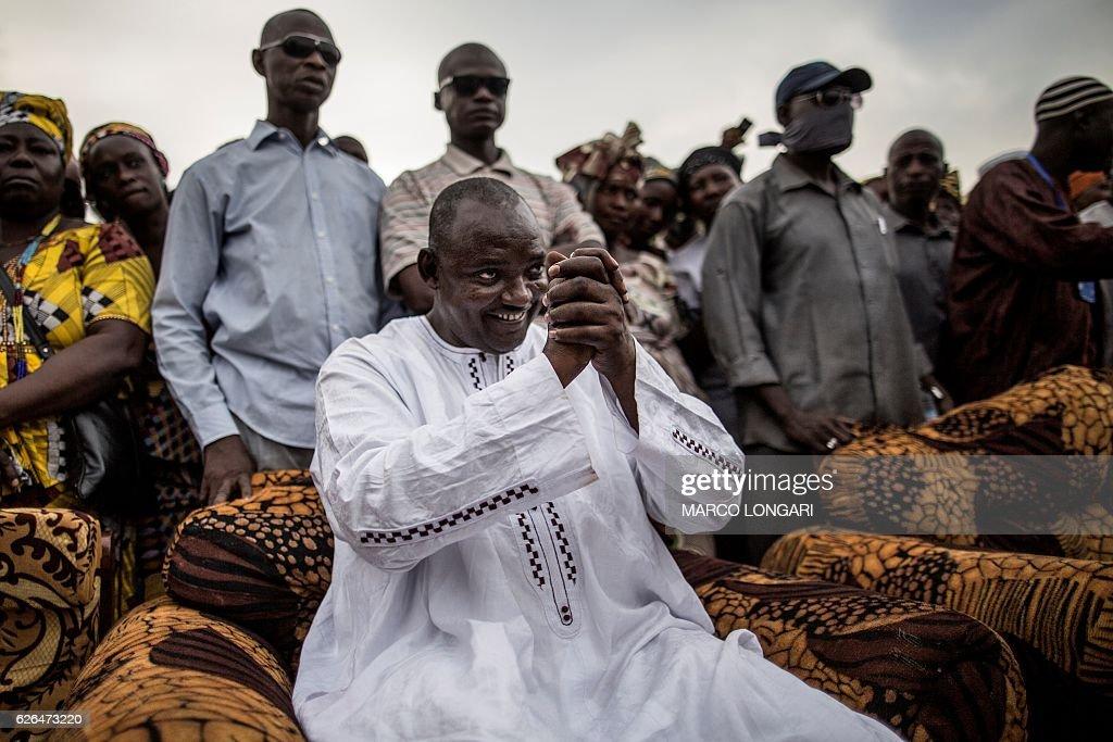 GAMBIA-POLITICS-VOTE : News Photo