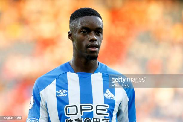 Adama Diakhaby of Huddersfield Town at John Smith's Stadium on July 25 2018 in Huddersfield England