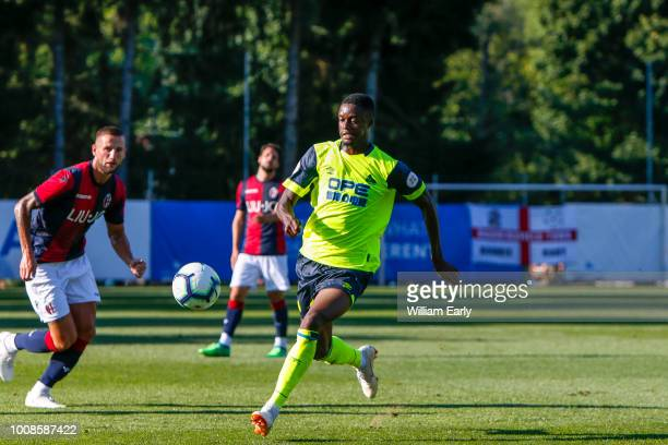 Adama Diakhaby of Huddersfield Town during the preseason friendly between Huddersfield Town and FC Bologna 1909 on 31 July in Brixen im Thale Austria