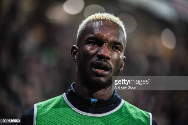 Adama Niane of Troyes during the Ligue 1 match between Troyes and Bordeaux on January 13 2018 in Troyes France