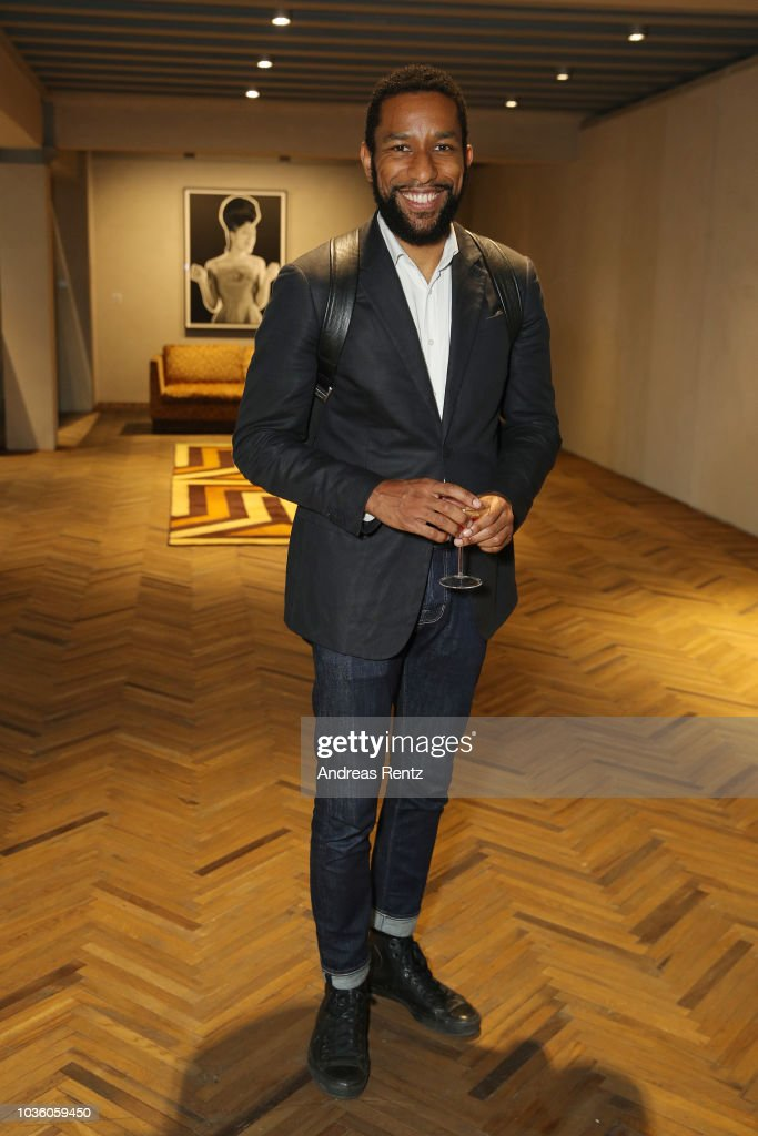 Opening Of Theaster Gates' Exhibition 'The Black Image Corporation' At Fondazione Prada Osservatorio in Milan