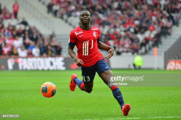 Adama SOUMAORO Lille / Valenciennes 33eme journee de Ligue 1 Photo Dave Winter / Icon Sport