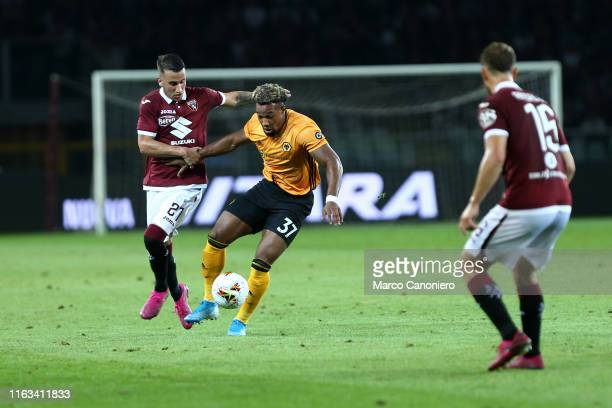 Adama Traorè of Wolverhampton Wanderers Fc during the UEFA Europa League playoff first leg football match between Torino Fc and Wolverhampton...