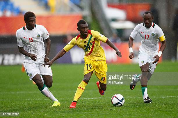 Adama Traore of Mali during the FIFA U20 World Cup Third Place Playoff match between Senegal and Mali at North Harbour Stadium on June 20 2015 in...