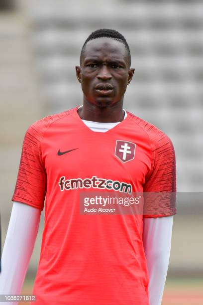 Adama Traore of Metz during the Ligue 2 match between Paris FC and FC Metz at Stade Charlety on September 22 2018 in Paris France