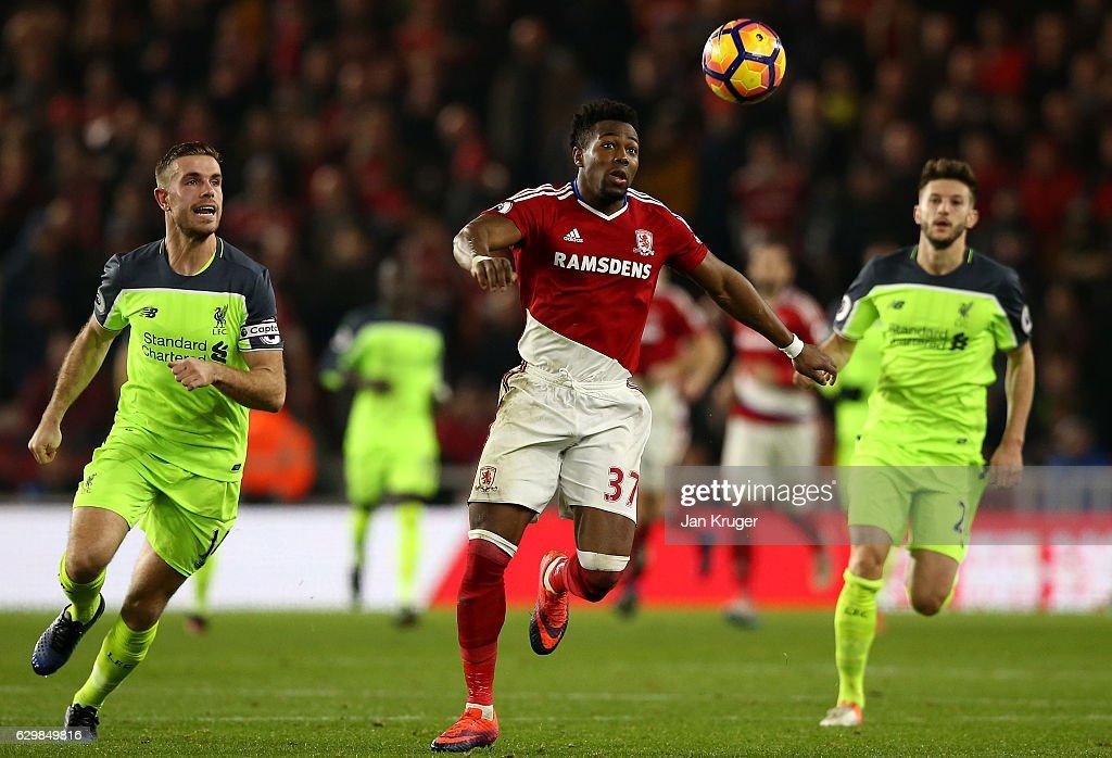 Middlesbrough v Liverpool - Premier League : News Photo