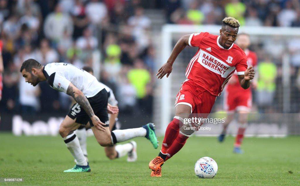 Derby County v Middlesbrough - Sky Bet Championship