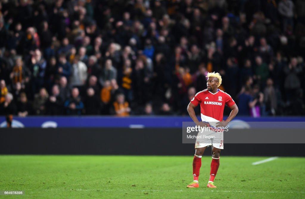 Hull City v Middlesbrough - Premier League