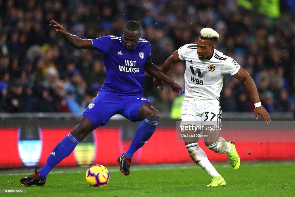 Cardiff City v Wolverhampton Wanderers - Premier League : News Photo